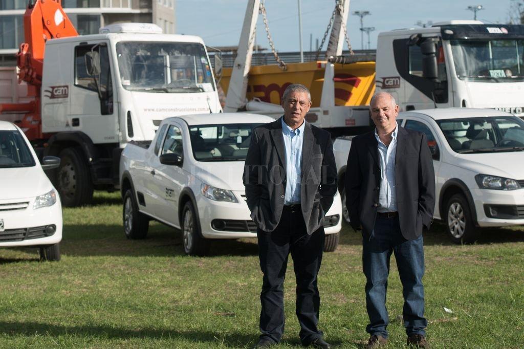 Daniel Arditti y Sergio Morgenstern socios y amigos, se unieron en 1991 para crear CAM Construcciones. Crédito: Gentileza