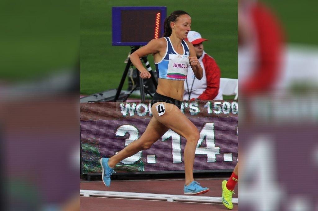 Florencia Borelli cumplió un destacado desempeño y consiguió un nuevo récord argentino de medio maratón. Crédito: Archivo El Litoral