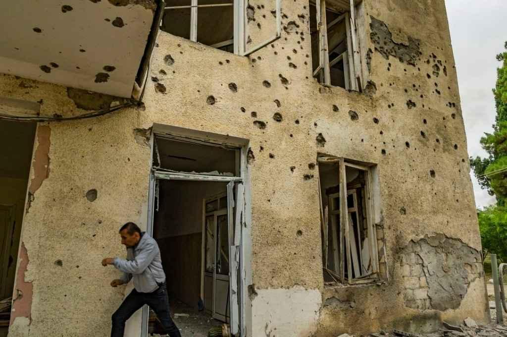 Los ataques se repitieron según denunciaron los armenios. Crédito: Agencia