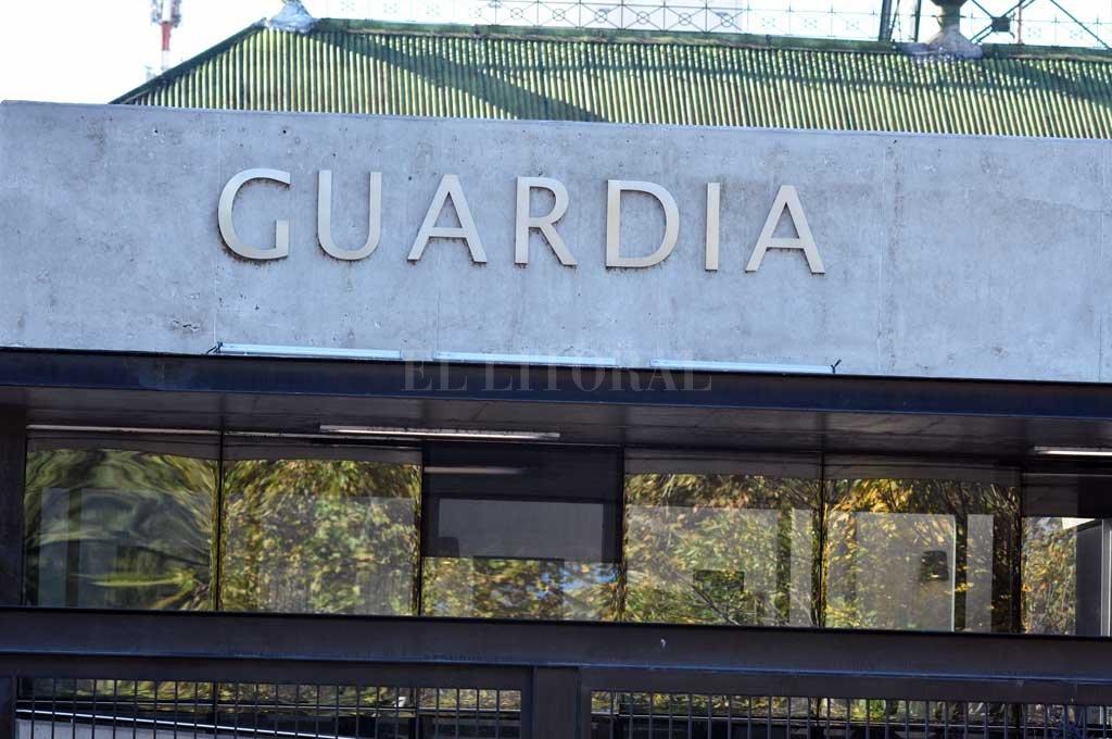 Ambos heridos fueron asistidos en el Cullen Crédito: Guillermo Di Salvatore