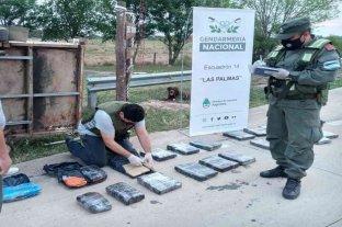 """Viajaba desde Chaco a Tierra del Fuego con 45 kilogramos de marihuana ocultos en una """"mudanza"""""""
