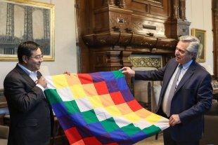 Alberto y Cristina celebraron la victoria presidencial de Arce en Bolivia