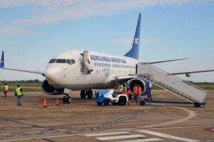 Así será el regreso de los vuelos internos de Aerolíneas Argentinas