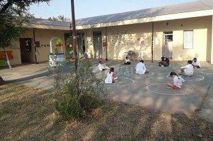 Video: así fue la vuelta a clases en una escuela rural de Campo Castro