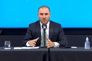 El gobierno anunció medidas para contener al dólar - Martin Guzmán, ministro de Economía de la Nación. -