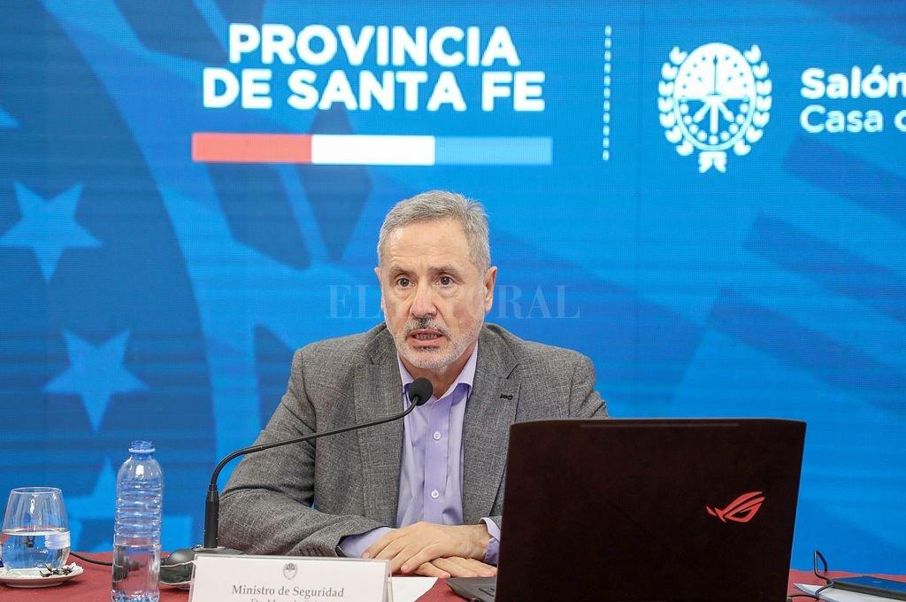Marcelo Sain, ministro de Seguridad de la provincia. Crédito: Gentileza