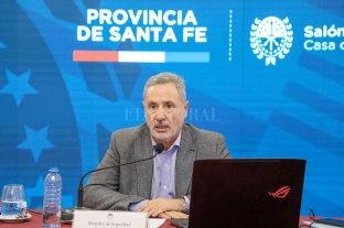 """Sain: """"Queremos que sea la gran reforma de la democracia"""" - Marcelo Sain, ministro de Seguridad de la provincia. -"""
