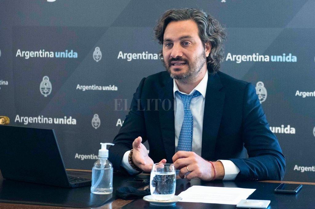 Santiago Cafiero, Jefe de Gabinete Crédito: Archivo El Litoral