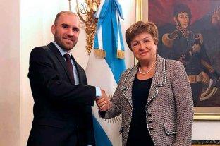 Guzmán agradeció a Kristalina Georgieva por el apoyo del FMI