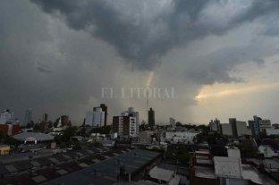 Así avanza la tormenta por la ciudad de Santa Fe -