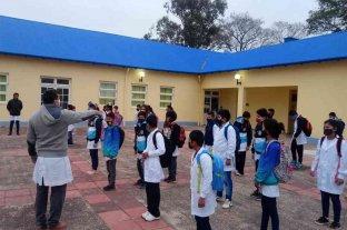 Formosa: más de 50 mil estudiantes retoman las clases en forma semipresencial