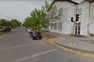 Otra escuela de la ciudad escenario de la delincuencia - La zona donde se produjo el hecho  -