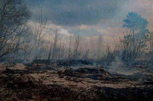 La lluvia extinguió todos los focos de incendios en Córdoba  -