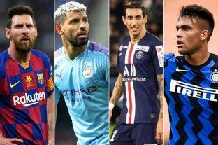 21 argentinos serán parte de la fase de grupos de la Champions League