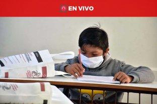 En vivo: regresan las clases presenciales en escuelas rurales de Santa Fe