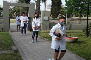 Volvieron las clases presenciales en 56 escuelas rurales de la provincia