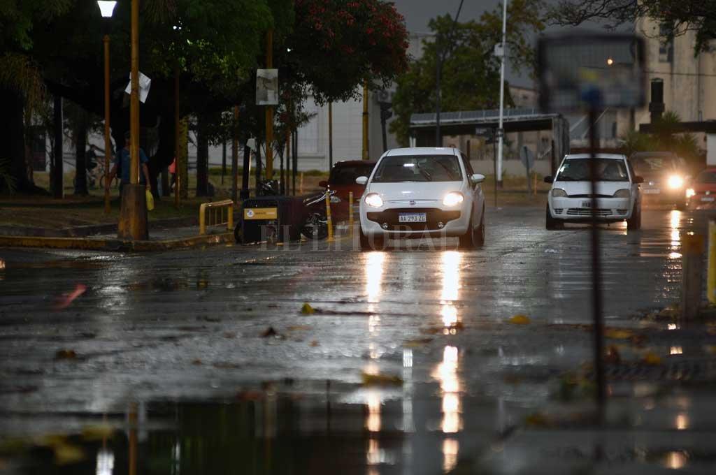 Lluvia: se cumplieron los pronósticos y cayeron unos 30 mm desde este lunes -  -