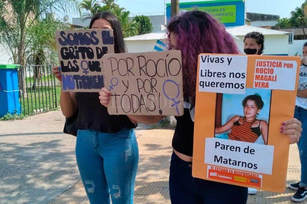 Femicidio de Rocío Vera: malestar  por la liberación de un imputado  -  -