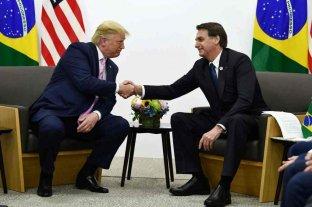 """Bolsonaro: """"Espero poder viajar a la asunción de Trump reelecto"""""""