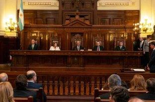 La Corte Suprema aún no resolvió sobre los jueces desplazados por el gobierno -  -