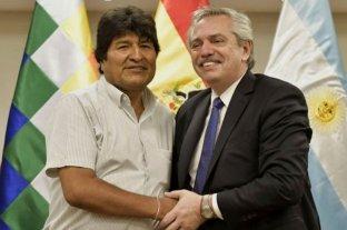 Alberto Fernández cenó en Olivos con Evo Morales y lo felicitó por el triunfo en del MAS