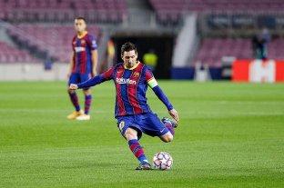 Con un gol de Messi, Barcelona goleó en su debut en la Champions League