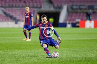 Con un gol de Messi, Barcelona goleó en su debut en la Champions League -  -