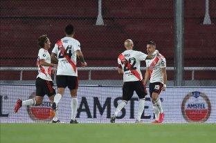 River goleó a Liga de Quito y se quedó con el liderazgo de su grupo