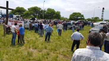 Último momento: esta tarde desalojarían a los usurpadores de Grabois en Entre Ríos
