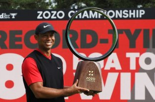 Tiger Woods quiere hacer historia en el ZoZo Championship