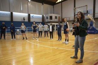Inés Arrondo felicitó a la CABB por su plan de detección y formación de jugadoras