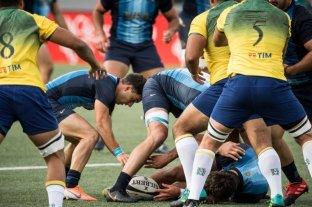 Argentina XV goleó 40 a 15 a Brasil en su segundo partido en el Sudamericano de rugby