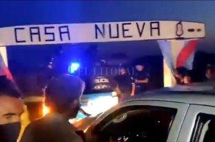 Se inicia una vigilia de productores frente al campo usurpado por Grabois en Entre Ríos