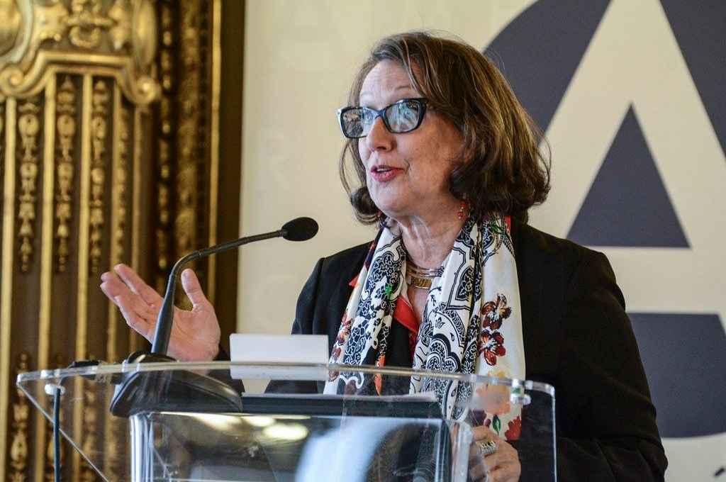 Rebeca Grynspan Mayufis. Diplomática costarricense, titular de la Secretaría General Iberoamericana desde 2014.   Crédito: Internet