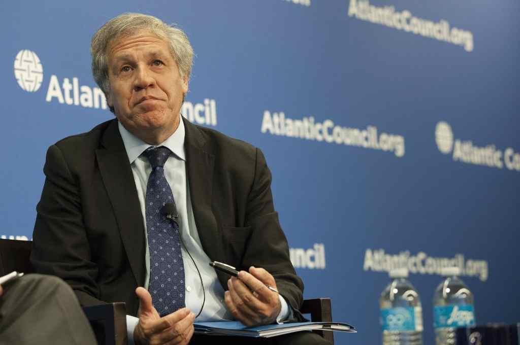 Luis Almagro. Secretario General de la OEA. Denunció