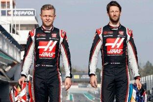 Fórmula Uno: Grosjean y Magnussen dejarán el equipo Hass
