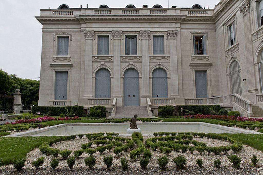 Jardines del Museo Nacional de Arte Decorativo Crédito: Gentileza
