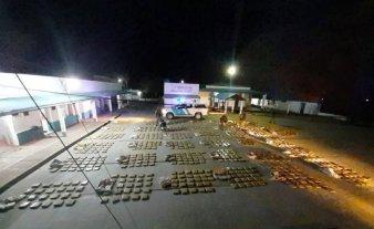 Secuestran más de una tonelada de marihuana en Corrientes