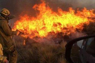 Diez focos de incendios permanecen activos en la provincia de Salta