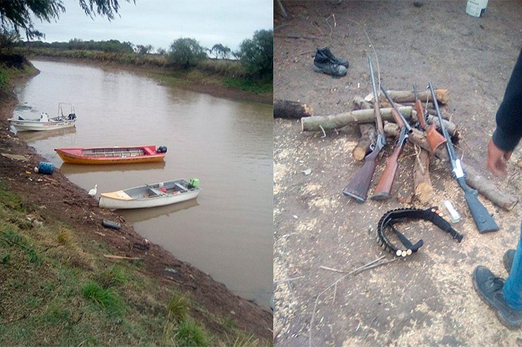 Entre Ríos: investigan si un grupo de cazadores furtivos están vinculados con los incendios en el delta -  -