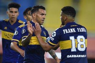Boca cerró la fase de grupos con una goleada ante Caracas