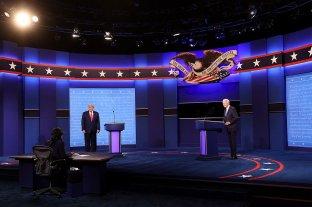Pandemia, economía e inmigración: Trump y Biden se enfrentaron en el último debate -  -