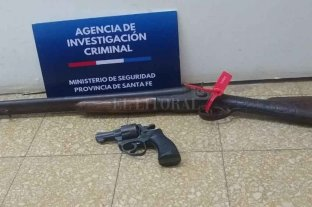 Detenidos con armas de fuego en Rincón