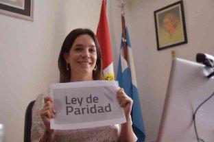 """Lucila De Ponti: """"La paridad es un avance para una democracia mejor"""""""