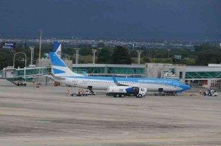 Tras siete meses, arribó el primer vuelo de Aerolíneas Argentinas a la provincia de Córdoba