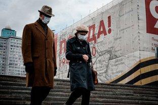 Rusia registró más de 17 mil contagios de Covid-19