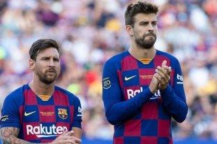 """Pique: """"El estadio nuevo debe llevar el nombre de Messi"""""""