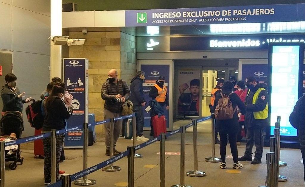 El jueves se retomaron en el país los vuelos regulares de cabotaje Crédito: Agencia