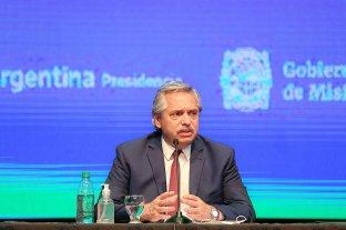 """Alberto Fernández: """"Vamos a seguir igual en las 8 provincias con más casos y en el AMBA"""" -"""