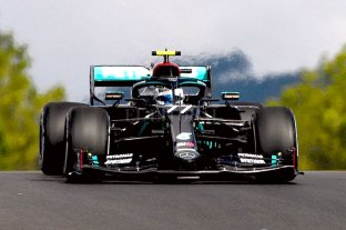 Bottas fue el mejor en los ensayos para el Gran Premio de Portugal de F1